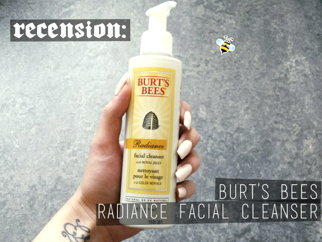 burts bees radiance facial cleanser