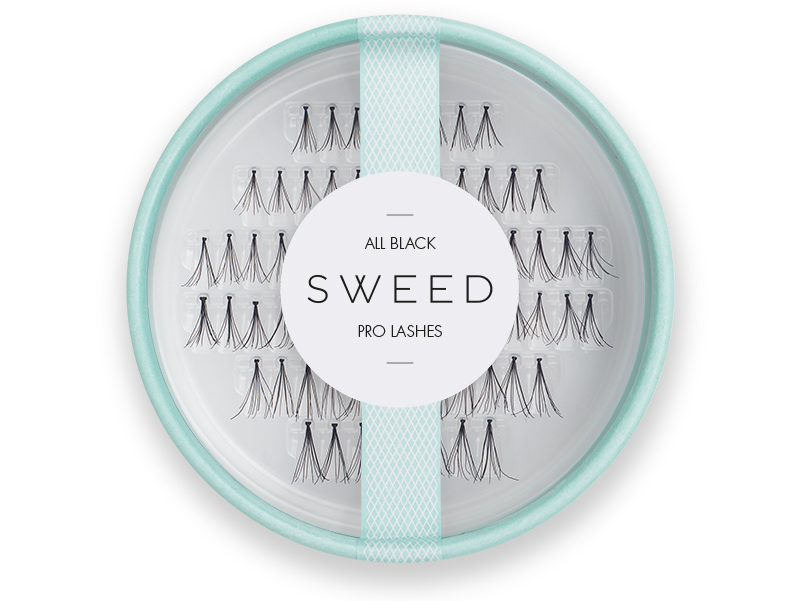 sweed lashes all black